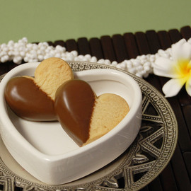 HONOLULU COOKIE COMPANY  - Heart Shaped Cookie