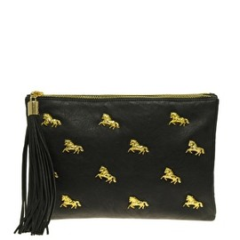 ASOS - ASOS Multi Zip Horse Clutch