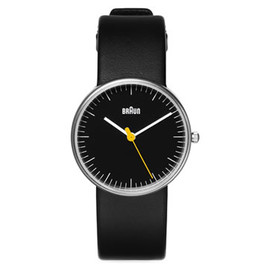 BRAUN - Black Face Watch (Small) by Dietrich Lubs