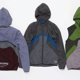 GYAKUSOU - UC CONVERTIBLE JACKET