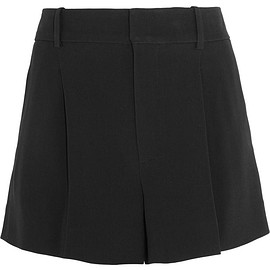 Chloé - Iconic pleated crepe shorts