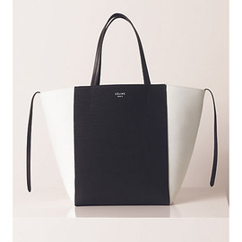 CELINE - CABAS PHANTOM MEDIUM IN CANVAS BLACK