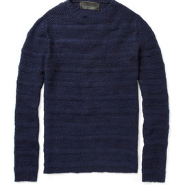 The Elder Statesman - Ridged Cashmere Sweater