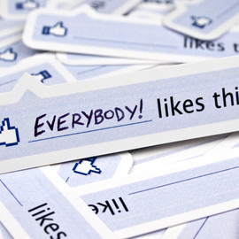 "55 Hi's - Facebook ""like"" stickers"