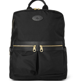 Mulberry - Mulberry Henry Leather-Trimmed Nylon Backpack