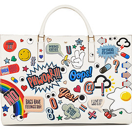 ANYA HINDMARCH - Bag, All-over Sticker