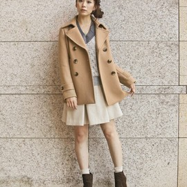 BEAUTY&YOUTH UNITED ARROWS - メルトンPコート
