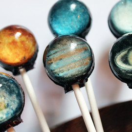 Vintage Confections - Original planet lollipops