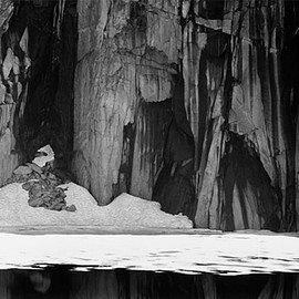Ansel Adams - Frozen Lake and Cliffs, Sequoia National Park, California