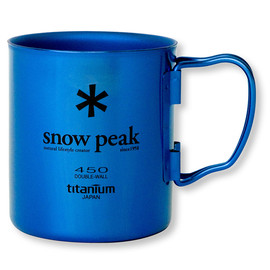 Snow Peak - SnowPeak Titanium Double Mug, Color