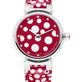 "LOUIS VUITTON × 草間彌生 - Infinity Kusama ""Montre Tambour"""