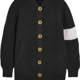Chloé - Two-tone wool cardigan