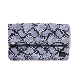 "HEAD PORTER - ""PYTHON"" CLUTCH BAG"