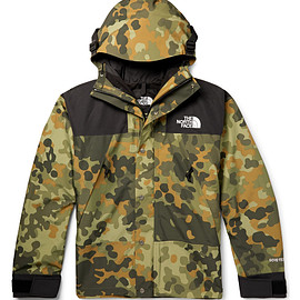 THE NORTH FACE - 1990 Mountain GTX Jacket - Camo/Black