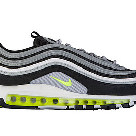 NIKE - Air Max 97 OG Retro - Black/Grey/Volt