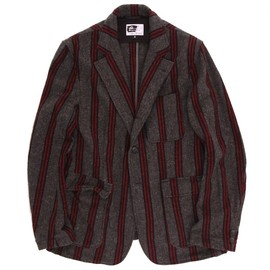 Engineered Garments - Baker Jacket - Vertical Stripe