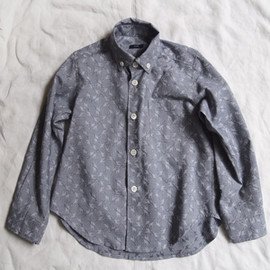 makie - Longsleeve Shirt - Blue Giraffe