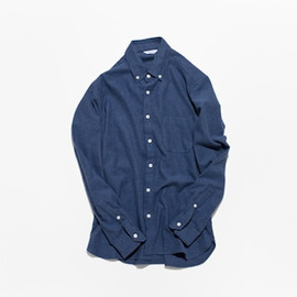 OH WELL - twill flannel/navy