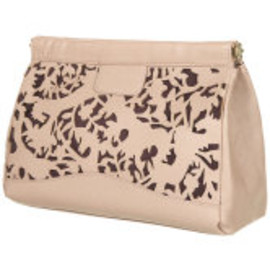 TOPSHOP - Woodland Laser Cut Clutch
