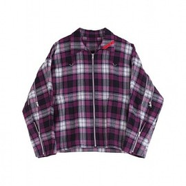 PHINGERIN - ZIP RUN JACKET PLAID