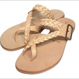 fabio rusconi - LEATHER SANDAL[NATURAL]