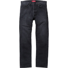 Supreme - Stone Washed Black Slim Jean