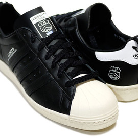 NEIGHBORHOOD - Adidas Originals By Originals X LUKER By NEIGHBORHOOD – Superstar 80′S BLACK