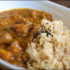 Cafe Eight, Brown Rice Cafe - Vegan Curry and Brown Rice