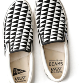 VANS, Pilgrim Surf+Supply, BEAMS - slip-on
