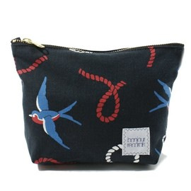 bonjour records - Swallow Print Pouch