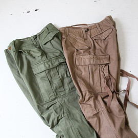 kolor/BEACON - 40/3 Cotton Serge 6 Pocket Pants