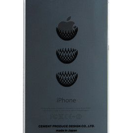 "CEMENT PRODUCE DESIGN, iTattoo - ""Dress it"" for iPhone5 Black & Slate"