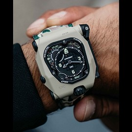 URWERK - EMC Time Hunter - Desert Sage/Camo