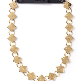 AMBUSH - Gold Crest Necklace