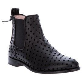 RED VALENTINO - POLKA DOT CHELSEA BOOT