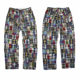 POLO RALPH LAUREN - Madras Patchwork Cotton Pant