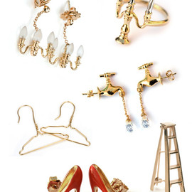 Miss Bibi - Miss Bibi — Miniature Object Jewellery | Lovely Room