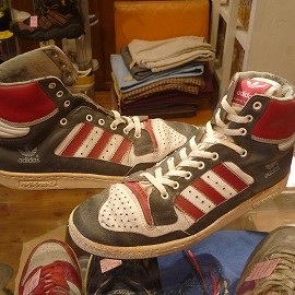 """adidas - 「<used>80's adidas CENTTENIAL grey/red/white""""made in FRANCE"""" size:GB9(27.5cm) 14800yen」販売中"""