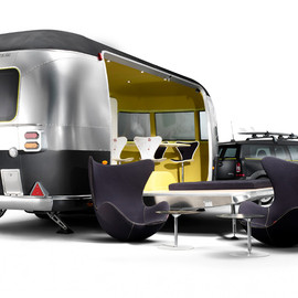 Mini Cooper, Airstream - A Fritzified Beachfront Dream Machine