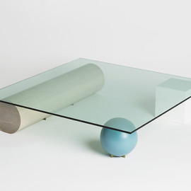 element table, indigo