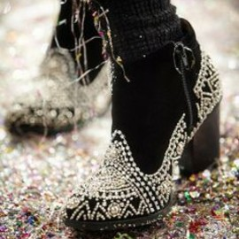 Dark Ankle Boot