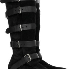 Vivienne Westwood - Pirate Boots Black Suede