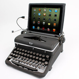 Etsy - USB Typewriter Computer Keyboard -- Royal Aristocrat c. 1945