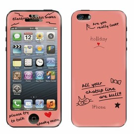 holiday - Gizmobies(ギズモビーズ)のholiday(ホリデー)×Gizmobies/Grafity Cat(Pink)【iPhone5専用Gizmobies】(モバイルケース/カバー)|サーモンピンク