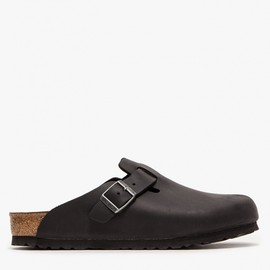 Birkenstock - Boston Oiled Black