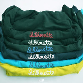 """NATURAL HIKING CLUB - NHC EMBROIDERY PRINT SWEAT """"SILHOUETTE"""""""
