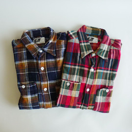 Engineered Garments - Work Shirts - Flannel Plaid
