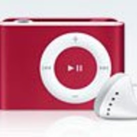 Apple inc. - iPod shuffle 1GB - (PRODUCT) RED