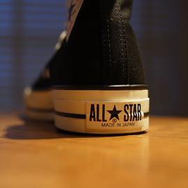 CONVERSE - Canvas All Star J Hi OX  Made in 久留米