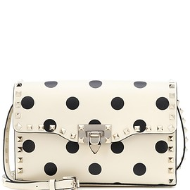 VALENTINO - Valentino Garavani Rockstud Medium leather shoulder bag